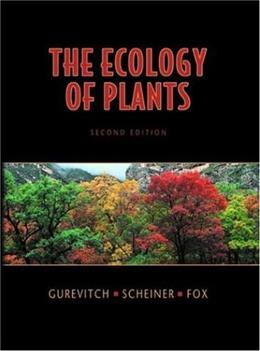 The Ecology of Plants, Second Edition 2 9780878932948