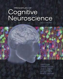 Principles of Cognitive Neuroscience, by Purves, 2nd Edition 2 PKG 9780878935734