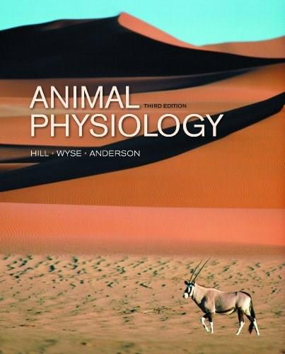 Animal Physiology, by Hill, 3rd Edition 9780878938988