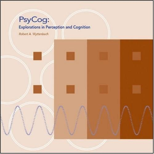 PsyCog: Explorations in Perception and Cognition, by Wyttenbach, CD-ROM ONLY 9780878939503