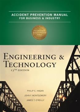 Accident Prevention Manual for Business and Industry: Engineering and Technology, by Hagen, 13th Edition 9780879122812