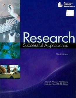 Research: Successful Approaches, by Monsen, 3rd Edition 9780880914154