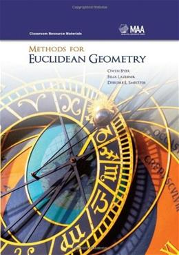 Methods for Euclidean Geometry, by Byer 9780883857632
