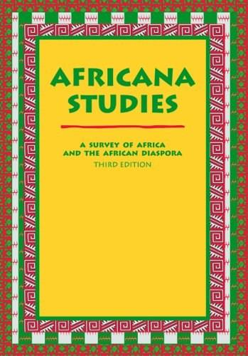 Africana Studies: A Survey of Africa And the African Diaspora, by Azevedo, 3rd Edition 9780890894859