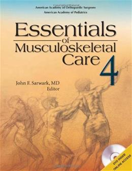Essentials of Musculoskeletal Care 4th edition 4 PKG 9780892035793