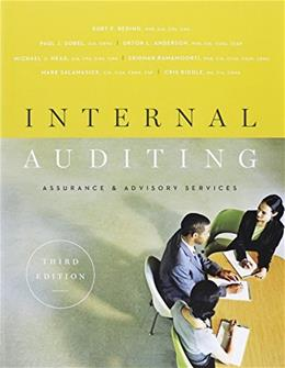Internal Auditing: Assurance & Advisory Services, Third Edition 3 w/DVD 9780894137402