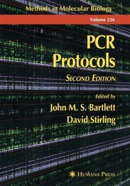 PCR Protocols, by Bartlett, 2nd Edition, Volume 226 9780896036277
