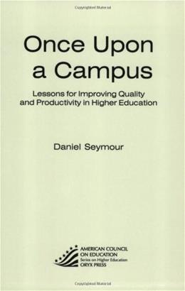 Once upon a Campus, by Seymour 9780897749657