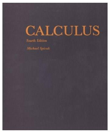 Calculus, 4th edition 9780914098911