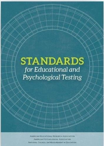 Standards for Educational and Psychological Testing, by Educational Research Association 9780935302356