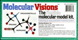 Molecular Visions: The Flexible Molecular Model Kit, by Darling PKG 9780964883710