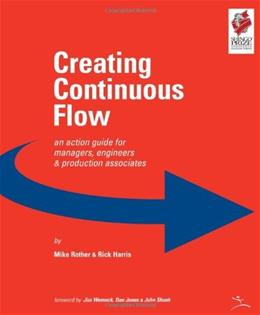 Creating Continuous Flow, by Rother 9780966784336