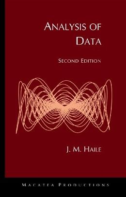Analysis of Data, by Haile, 2nd Edition 9780972860239