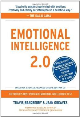 Emotional Intelligence 2.0, by Bradberry PKG 9780974320625
