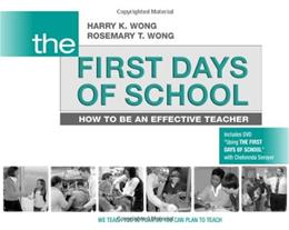 1st Days of School: How to Be an Effective Teacher, by Wong, 4th Edition 4 w/DVD 9780976423317