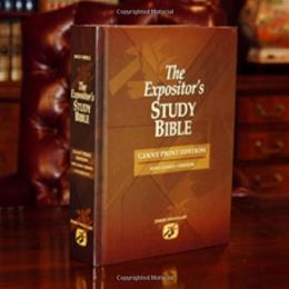 Expositors Study Bible, by Swaggert, Giant Print Edition 9780976953036