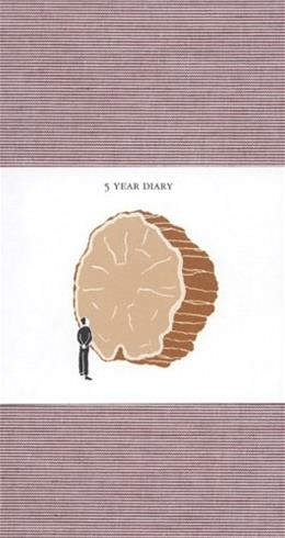 5 Year Diary: Red Cover Dry 9780977648184