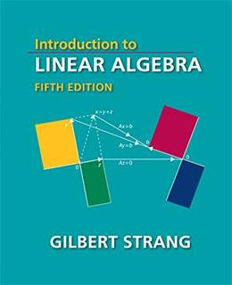 Introduction to Linear Algebra, Fifth Edition 5 9780980232776