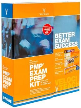 The Velociteach All-In-One PMP Exam Prep Kit: Based on the 5th edition of the PMBOK Guide (Test Prep series) Fifth Edit 9780982760864