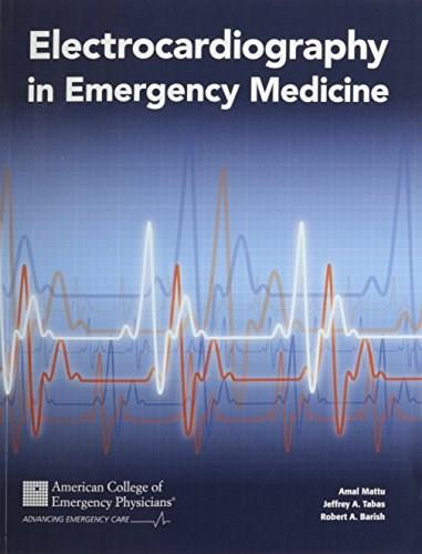 Electrocardiography in Emergency Medicine 9780983428817