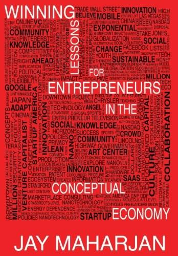 Winning Lessons for Entrepreneurs in the Conceptual Economy 9780988852204