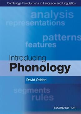 Introducing Phonology, by Odden, 2nd Edition 9781107627970