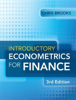 Introductory Econometrics for Finance, by Brooks, 3rd Edition 9781107661455