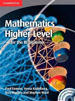 Mathematics for the IB Diploma: Higher Level with CD-ROM BK w/CD 9781107661738