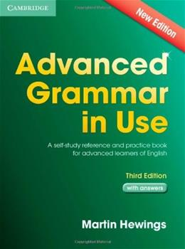 Advanced Grammar in Use, by Hewings, 3rd Edition 9781107697386