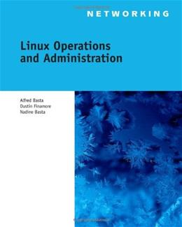 Linux Operations and Administration, by Basta BK w/CD 9781111035303