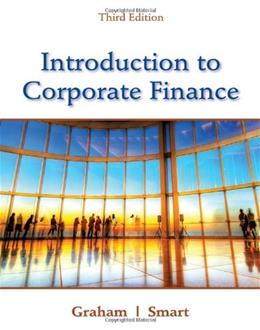 Introduction to Corporate Finance: What Companies Do (with CourseMate, 1 term (6 months) Printed Access Card and Thomson ONE Business School Edition 6-month Printed Access Card) 3 PKG 9781111222284