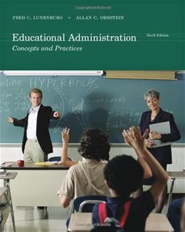 Educational Administration: Concepts and Practices 6 9781111301248