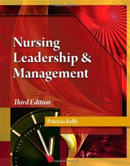 Nursing Leadership & Management 3 PKG 9781111306687