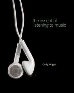 Essential Listening to Music, by Wright PKG 9781111342029