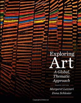 Exploring Art: A Global, Thematic Approach (with CourseMate Printed Access Card) 4 PKG 9781111343781