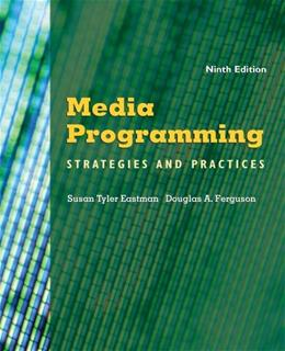 Media Programming: Strategies and Practices 9 9781111344474