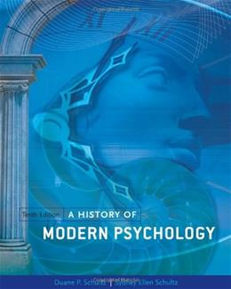 A History of Modern Psychology 10 9781111344979