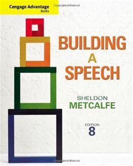 Cengage Advantage Books: Building a Speech 8 9781111348373