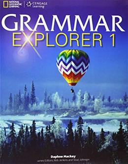 Grammar Explorer 1, by Mackey 9781111350192