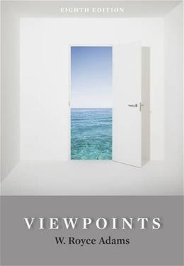 Viewpoints, by Adams, 8th Edition 9781111350246