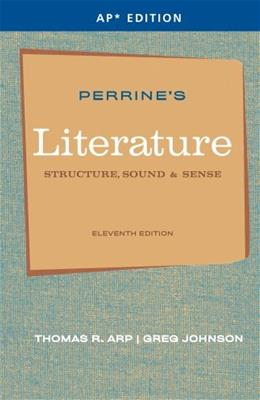 Perrines Literature: Structure, Sound and Sense, by Aro, 11th AP Edition 9781111351526