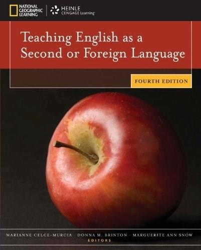 Teaching English as a Second or Foreign Language, 4th edition 9781111351694