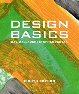 Design Basics, by Lauer, 8th Edition 9781111353988