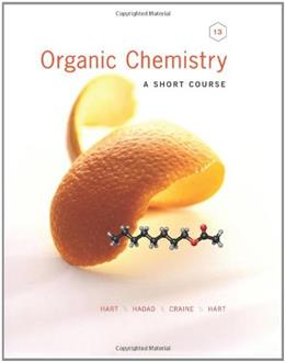 Organic Chemistry: A Short Course 13 9781111425562