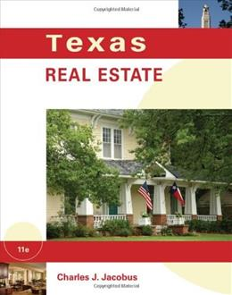 Texas Real Estate, by Jacobus, 11th Edition 9781111426958