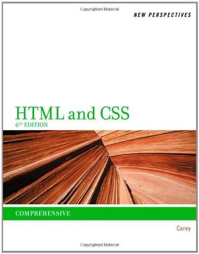 New Perspectives on HTML and CSS: Comprehensive 6 9781111526443