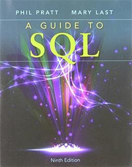 A Guide to SQL 9 9781111527273