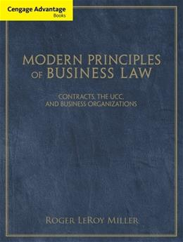 Modern Principles of Business Law, by Miller 9781111531171