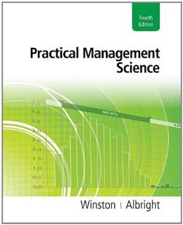 Practical Management Science (with Essential Textbook Resources Printed Access Card) 4 PKG 9781111531317