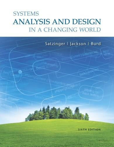 Systems Analysis and Design in a Changing World, 6th Edition 6 PKG 9781111534158